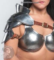 "Gladiator bust ""Princess of warrior"""